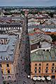 Kraków, Widok z wieży Kościoła Mariackiego - fotopolska.eu (220014).jpg