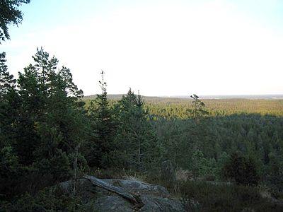Utsikt från Kroppefjäll