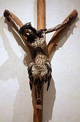 Krucyfiks widlasty z kościoła Bożego Ciała we Wrocławiu