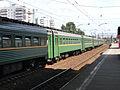 Kryukovo station, regional train (elektrichka) (4669958336).jpg