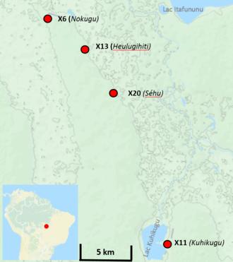 Kuhikugu - Kuhikugu map