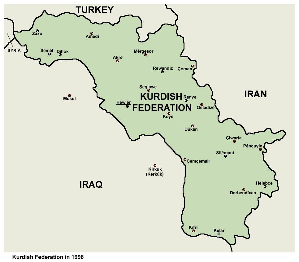 KurdishFederation1998