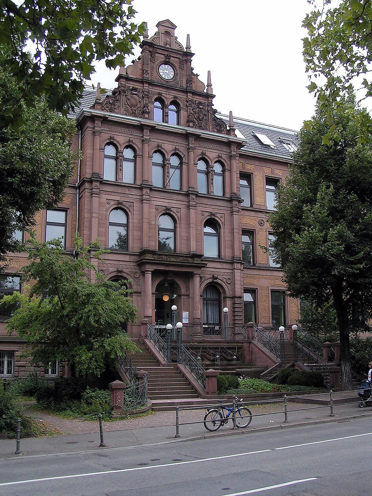 Kurf Rst Friedrich Gymnasium Heidelberg Wikipedia