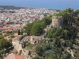 Kyparissia Place in Greece