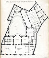 L'Architecture française (Marot) BnF RES-V-371 044r-f95 Hôtel de Beauvais, Plan du premier étage (adjusted).jpg