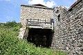 L'entrée et le pont roulant à effacement latéral du blockhaus de la Platte.jpg