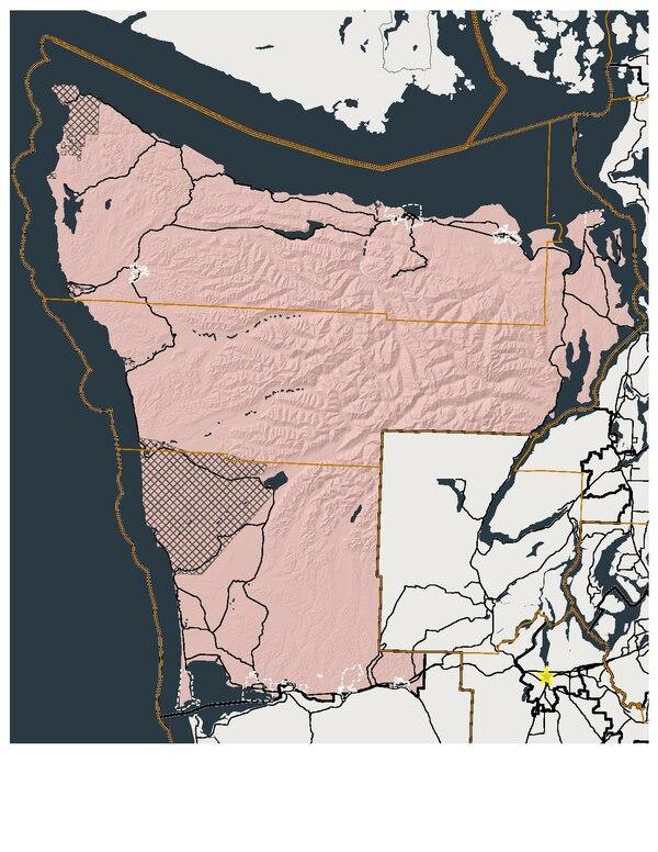 Washington state legislative districts