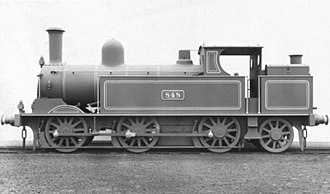 LNWR Webb Coal Tank - No. 848 in photographic grey livery