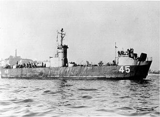 USS LSM-45 - LSM-45