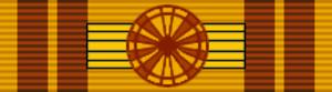 Jacques Diouf - Image: LTU Order of the Lithuanian Grand Duke Gediminas Grand Cross BAR