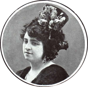Cuplé - Aurora Purificación Mañanós Jauffret (1891–1950), «La Goya», in 1914