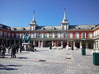 La Villa Española de Shima, Parque España - Plaza de Mayor.jpg