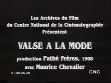 Fichier:La valse à la mode (1908).webm