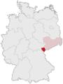 Lage des Vogtlandkreises in Deutschland.PNG