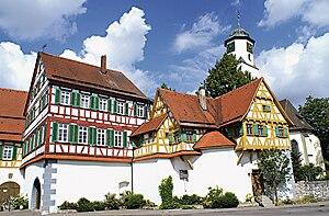 Fortress church -  Laichingen in the Swabian Jura