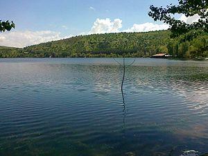 Lake Eymir - Image: Lake Eymir