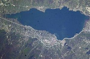 Lake Sapanca - Image: Lake Sapanca