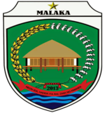 Official seal of Malaka Regency