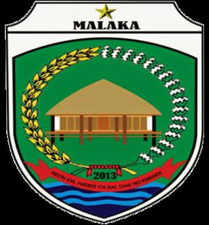Malaka Regency - Image: Lambang Kabupaten Malaka