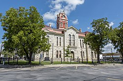 The Lampasas County Courthouse was completed in 1884. The structure was added to the National Register of Historic Places on June 21, 1971.