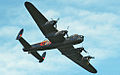 Lancaster bomber over Cowes in May 2013 6.jpg