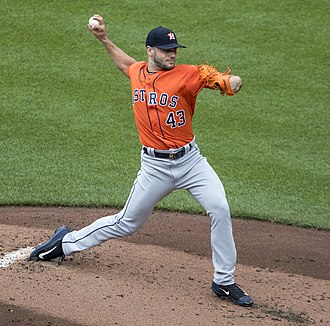 2017 World Series - Lance McCullers Jr. earned the win in Game 3.