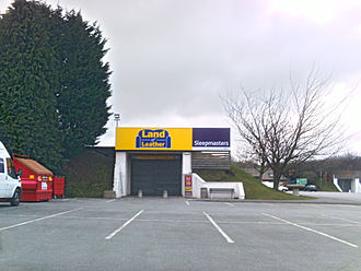 Land of Leather - Land of Leather on the Thorp Arch Trading Estate, Wetherby, West Yorkshire