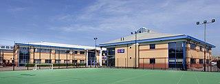 Landau Forte College Academy in Derby, Derbyshire, England