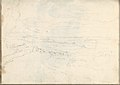 Landscape with River, Arched Bridge and Distant Mountains (Smaller Italian Sketchbook, leaf 39 recto) MET DP269447.jpg