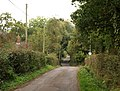 Lane past Crossways Farm - geograph.org.uk - 1534699.jpg