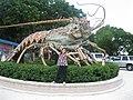 Langosta Gigante en Islamorada, Florida keys. - panoramio.jpg