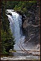 Last July i took a couple of Red (Jammer ) Bus tours while visiting East Glacier Park in Montana Part of the hidden lake tour took us to a trail that led to this waterfall .Running Eagle Falls is like two waterfalls in o - panoramio.jpg