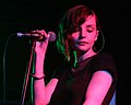 Lauren Mayberry of Chvrches-Live at London 2012.jpg