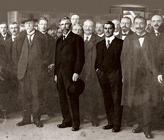Škoda Auto - Founders Václav Klement (left) and Václav Laurin (1895)
