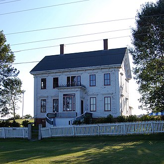 Maitland, Hants County, Nova Scotia - Lawrence House Museum, Maitland, Nova Scotia