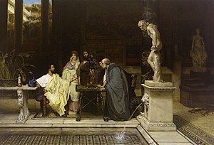 Silvae - Image: Lawrence Alma Tadema A Roman Art Lover 1