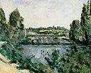 Le Pont et le déversoir à Pontoise, par Paul Cézanne, FWN 173.jpg