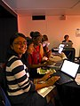 Learn to edit Wikipedia session at Wikimania 2014 06.jpg