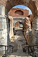 Lefke Gate (the eastern gate) with Roman triumphal arch dating to the 1st century AD, later part of Nicaea's Byzantine fortifications, Iznik, Turkey (38437176082).jpg