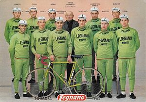 Legnano (cycling team) - The Legnano team of 1963