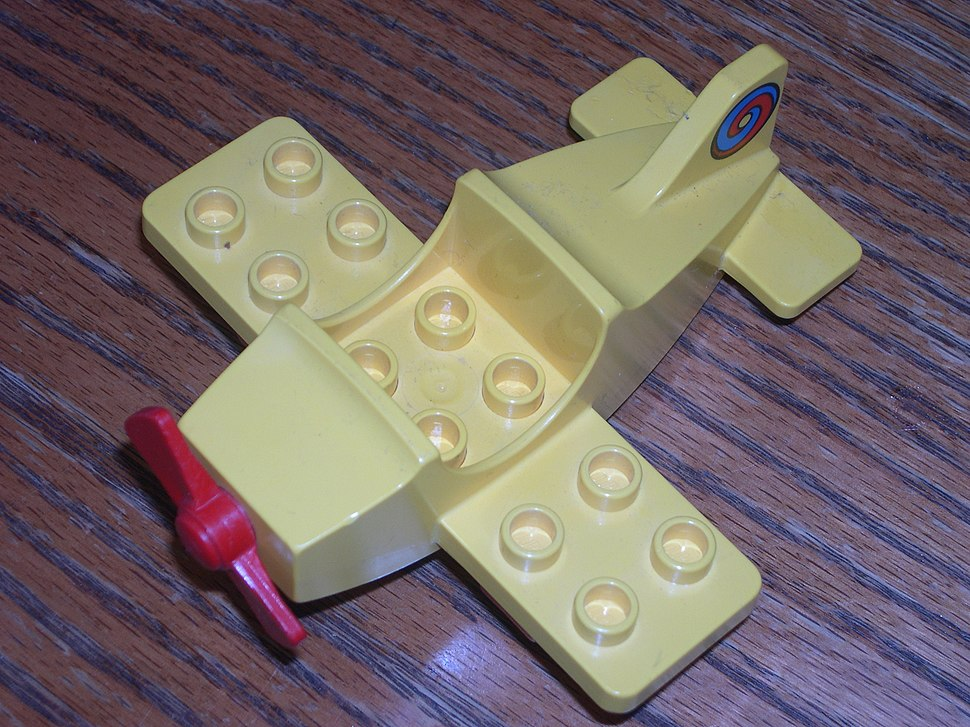 Lego special block airplain