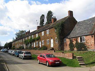 Glooston Human settlement in England