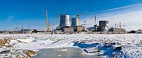 Bau von zwei WWER-1200 im Kernkraftwerk LeningradII, 2017