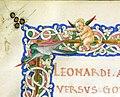 Leonardo bruni, de bello gallico contra gothos, firenze 1459 (bml, pluteo 65.10) 02.jpg