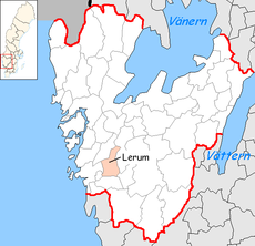 Lerum Municipality in Västra Götaland County.png