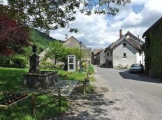Les Planches-près-Arbois Commune in Bourgogne-Franche-Comté, France