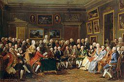 Les salons au XVIIIe siècle - Histoire Image