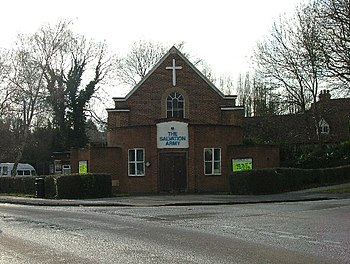 English: Letchworth Salvation Army Hall. One o...