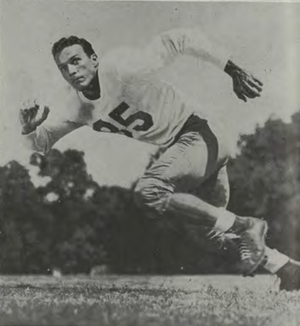 Lew Holder - Holder pictured c. 1948 at the University of Texas