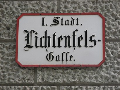 How to get to Lichtenfelsgasse with public transit - About the place